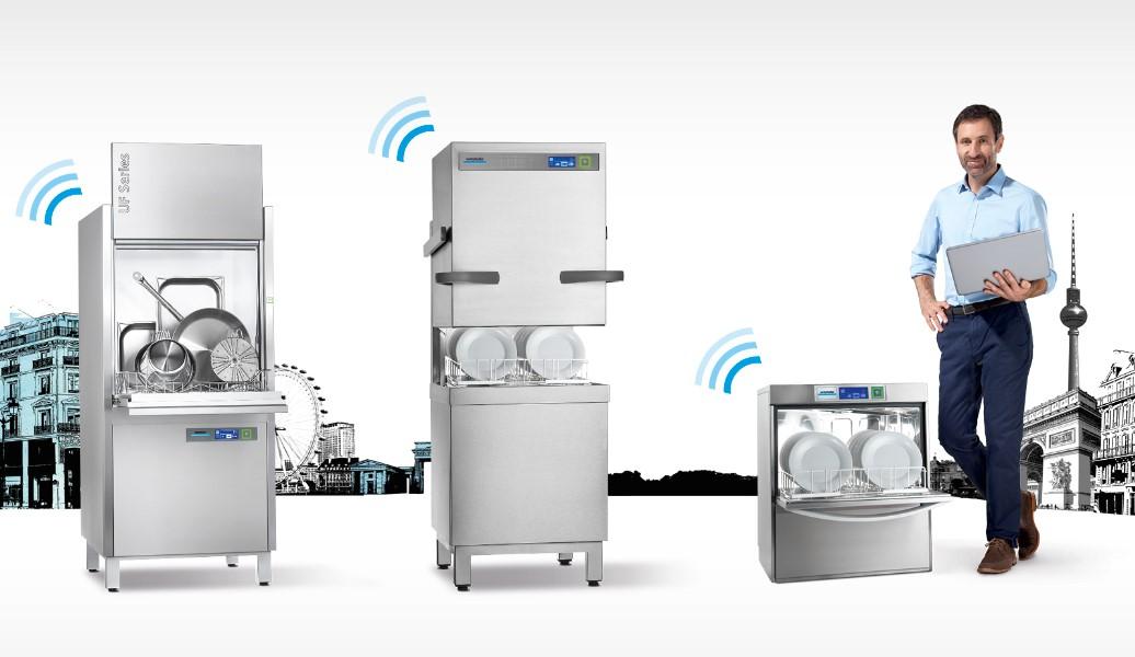 Resultado de imagen para aparatos para lavar loza industrial