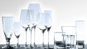 Roturas de cristalería en su cocina